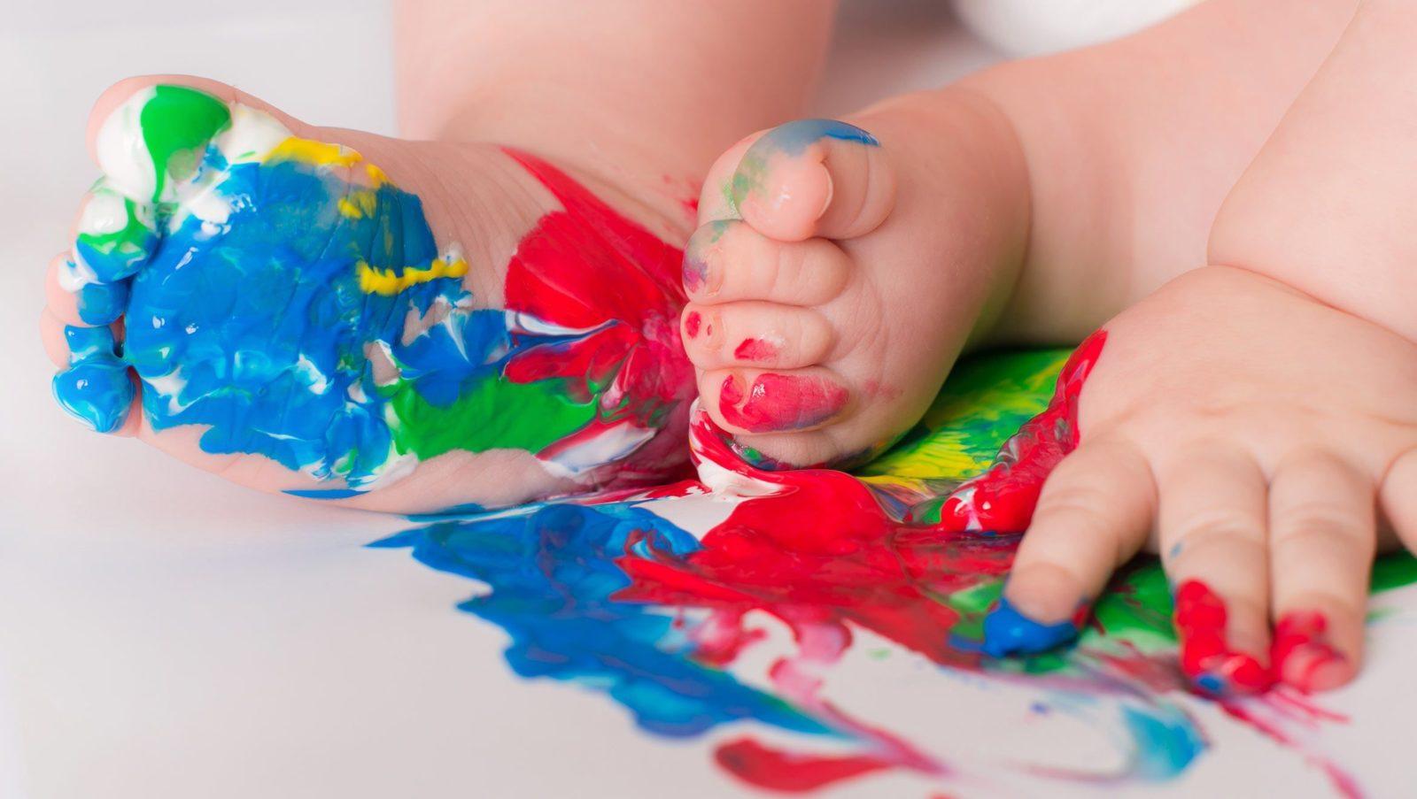 La peinture, activités pour enfants de 0 à 18 mois | Bébé M