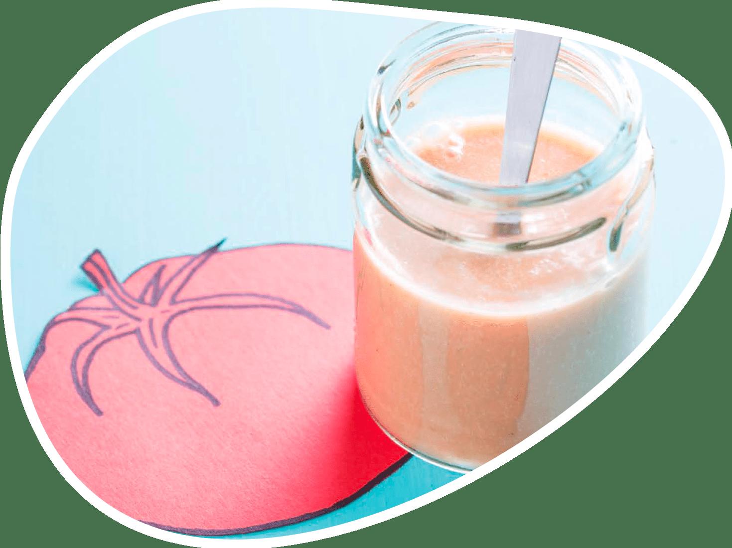 Recette crème de riz aux tomates | Bébé M