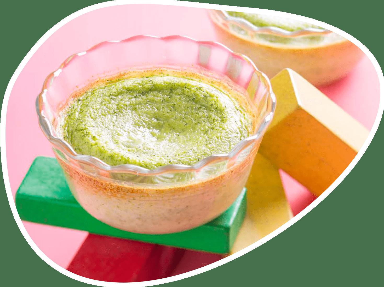 Recette flan aux brocolis | Bébé M