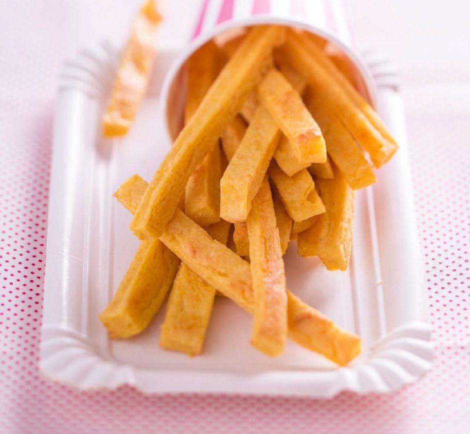Recette de frites panisse curcuma pour bébé | Bébé M