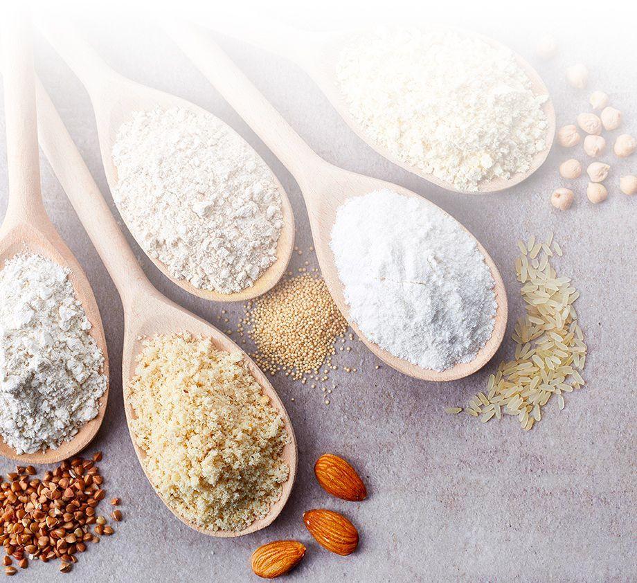 Ingrédients végétaux sans gluten   Bébé M