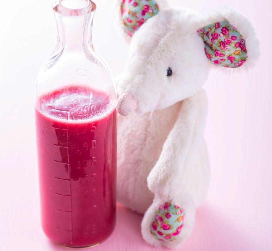 Recette de jus de pommes et de betterave pour bébé | Bébé M