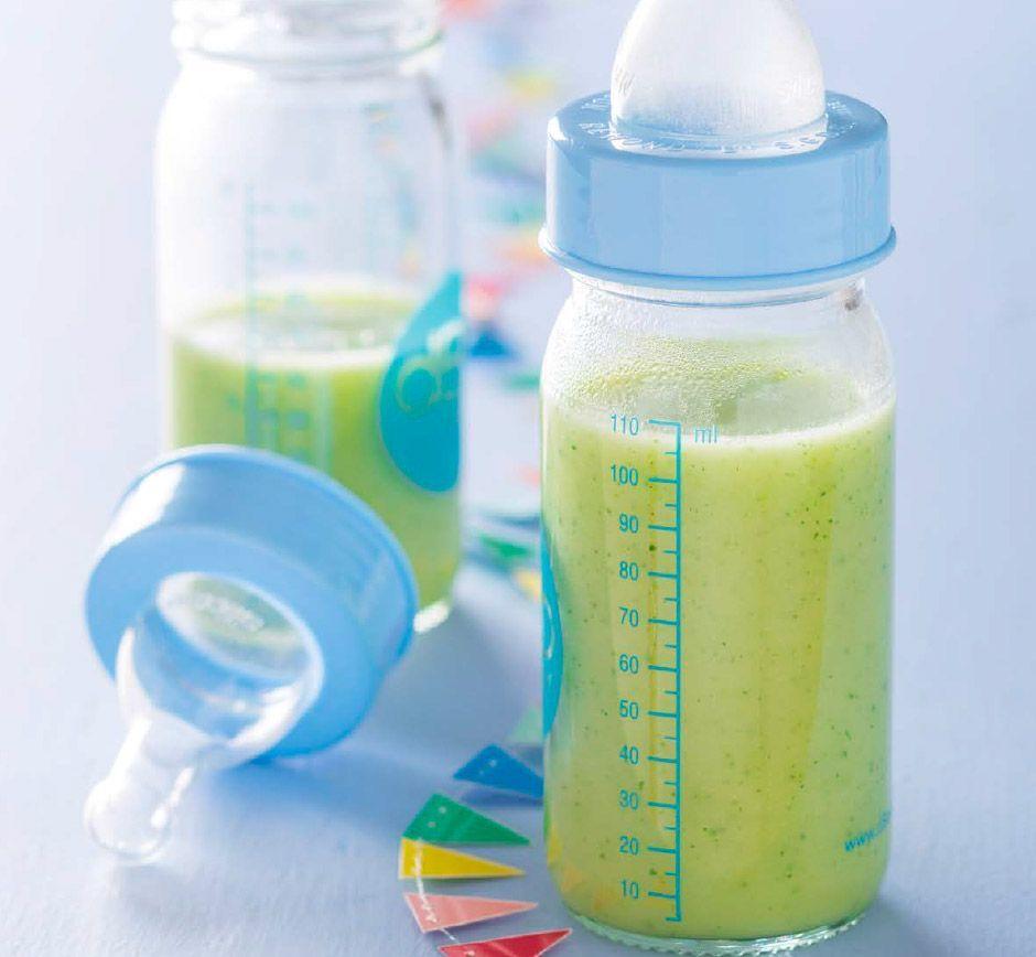 Lait de courgette pour bébé de 4 mois à 6 mois | Bébé M