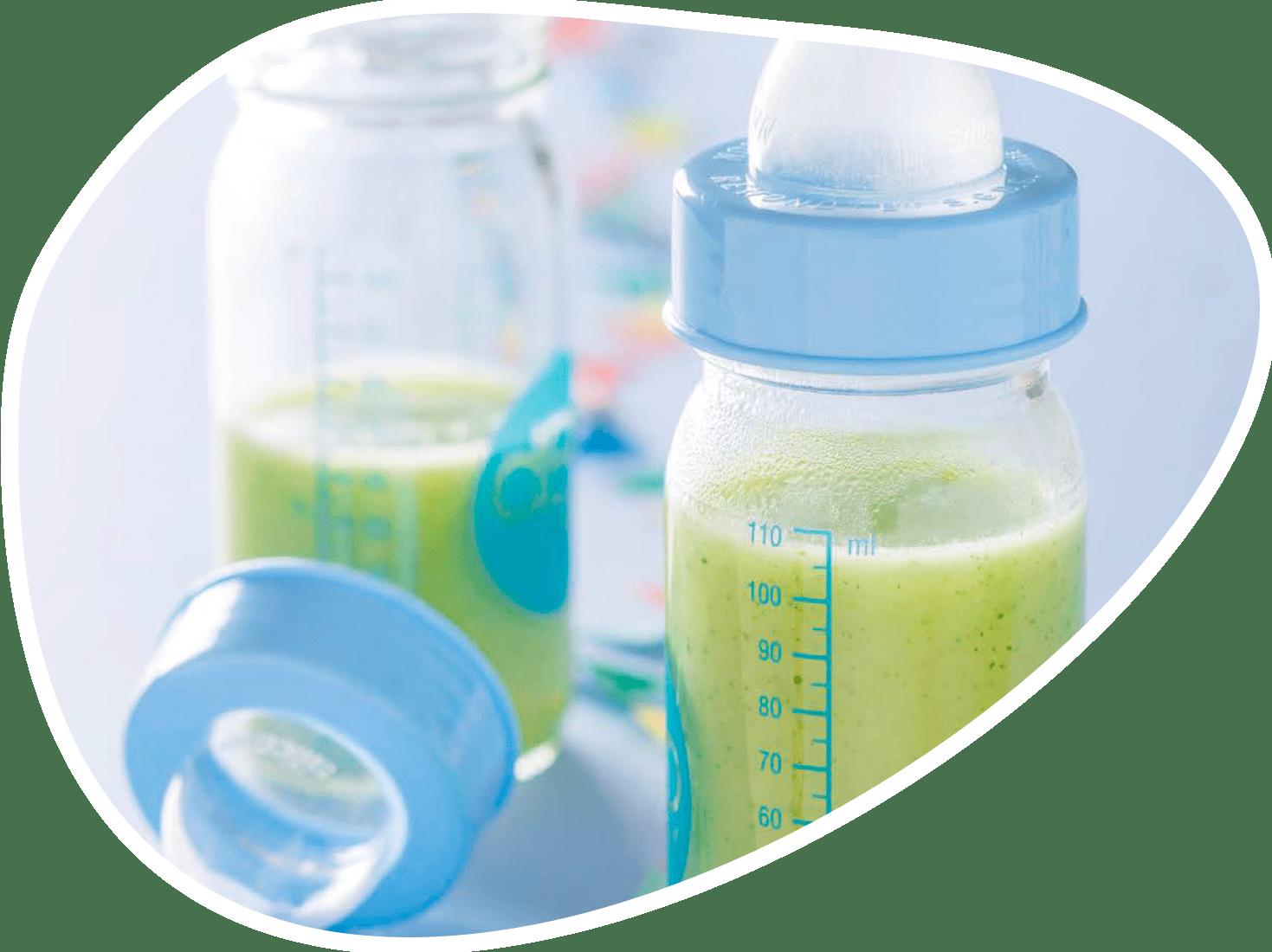 Recette lait courgette | Bébé M