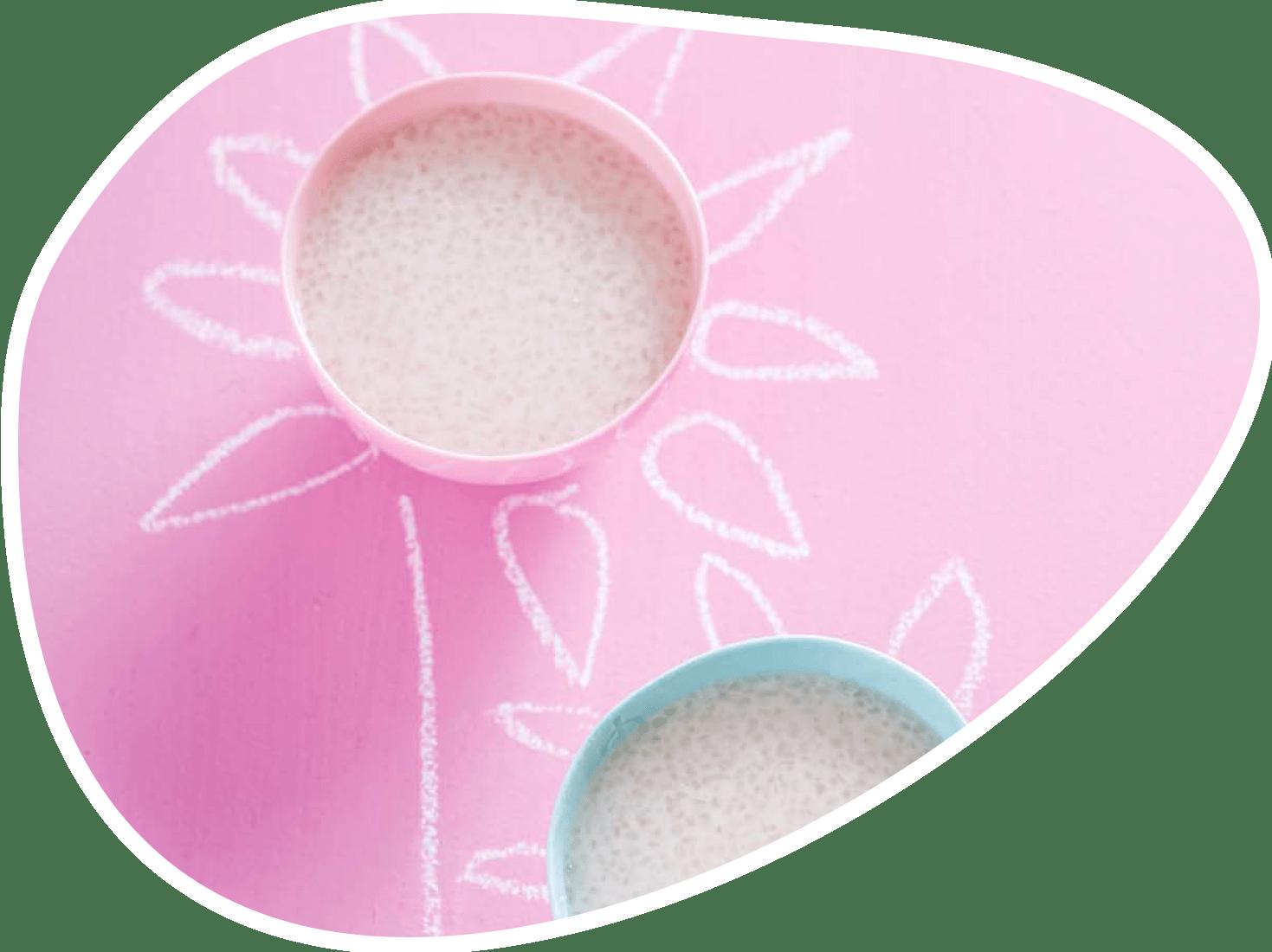 Recette du tapioca rose | Bébé M