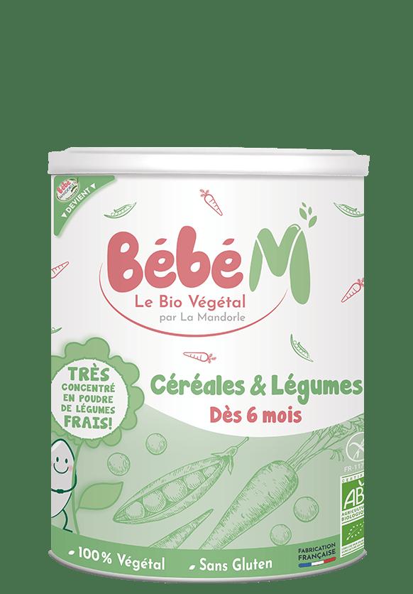 Préparation bio céréales et légumes dès 6 mois | Bébé M