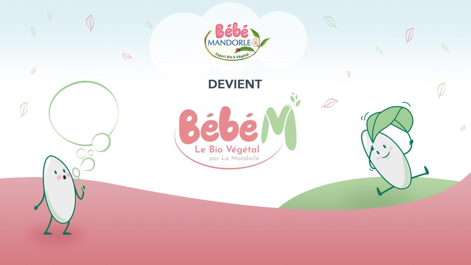Bébé Mandorle devient Bébé M le bio végétal
